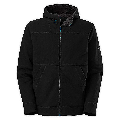 The North Face M Ballistic Hoodie Zip Up TNF Black Mens L by The North Face