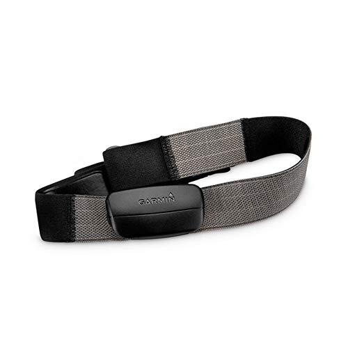 Garmin Premium hartslag-borstband HRM – hoog draagcomfort, elastische en wasbare textielriem.