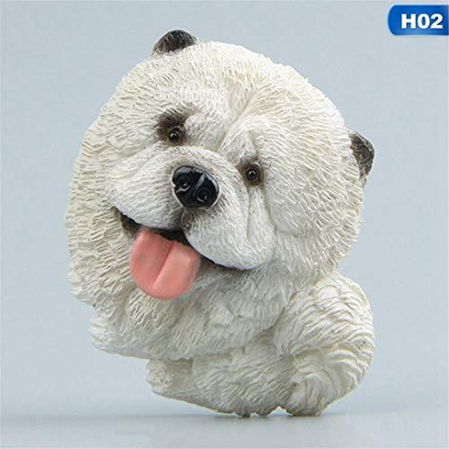 1Pcs/Set Cartoon Bulldog Fridge Magnet Kid Early Education Magnetic Stickers for Fridge Resin 15158H02 ()