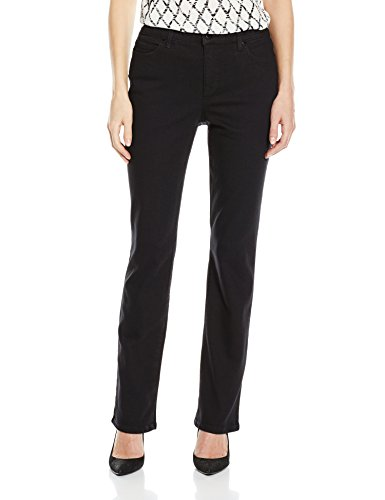 - Bandolino Women's Mandie 5 Pocket Jean, Saturated Black, 12