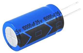 NTE Electronics NEV47M35CB NTE Electronics NEV47M35CB Series NEV Aluminum Electrolytic Capacitor, 20% Capacitance Tolerance, Radial Lead, 47µF Capacitance, 35V