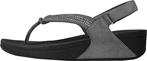 Fitflop Sandalias De Dedo Crystal Swirl TM Sandal Nude Peltre