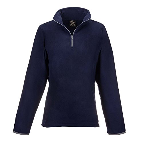 JGS Outfitters Polar Fleece Pullover Jacket for Women Lightweight Half Zip Sweater Coat Top for Winter - Half Zip Winter Sweater