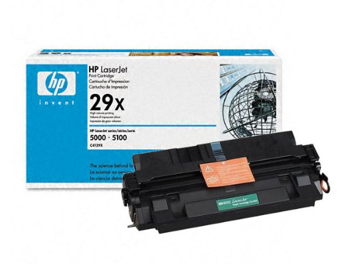 Genuine HP Toner for LaserJet 5000, 5100 Series - C4129X / C4129A (High Yield, 10K) by Non-OEM