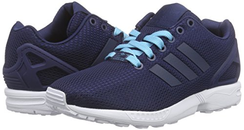 night blue Flux Sneakers Adidas Indigo Indigo Femme Zx Glow Night vFCx1