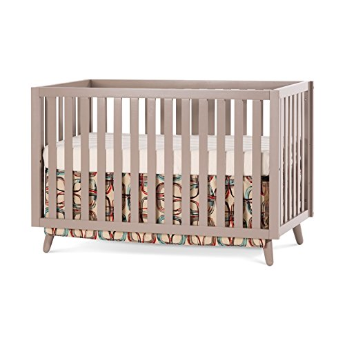 Child Craft Loft 4-in-1 Convertible Crib, Potters Clay