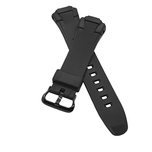 PerFit, Casio PerFit® Casio Replacement Watch Band for G-Shock GW500 GW530 GWM500 GWM530 MTG900 MTGM900 + Others, Black-Black Buckle price tips cheap
