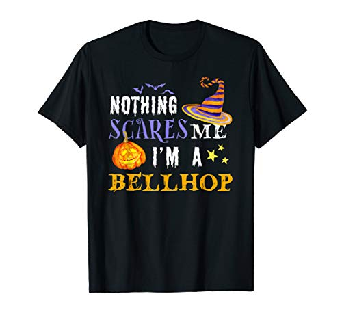 Nothing Scares Me Bellhop Halloween Costume Witch