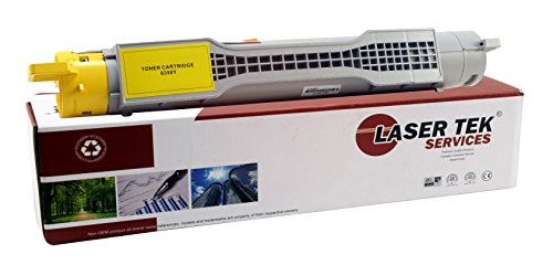 (Laser Tek Services Compatible Phaser 6350 Toner Cartridge Replacement for the Xerox 106R01146. (Yellow,)