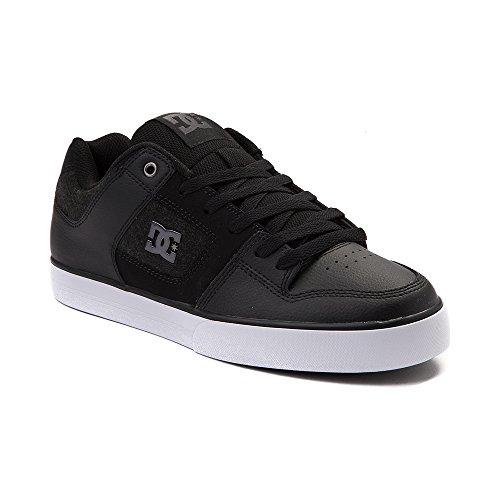 発行亡命軍隊(ディーシー) DC 靴?シューズ メンズスケートシューズ Mens DC Pure SE Skate Shoe Black/White ブラック/ホワイト US 10 (28cm)