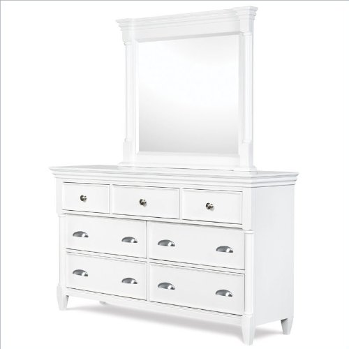 (Magnussen Kasey 7 Drawer Dresser and Mirror Set in)