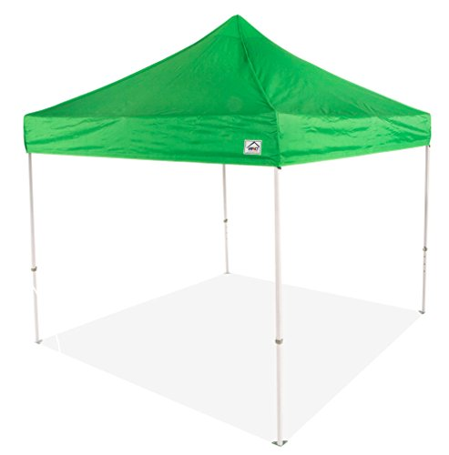 Impact Canopy 10×10 Canopy Pop up Tent, Commercial Grade Heavy Duty Straight Leg Canopy, Roller Bag, Kelly Green Review