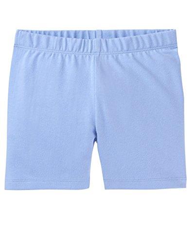 Gymboree Little Girls' Basic Knit Cartwheel Short, Blue, M ()