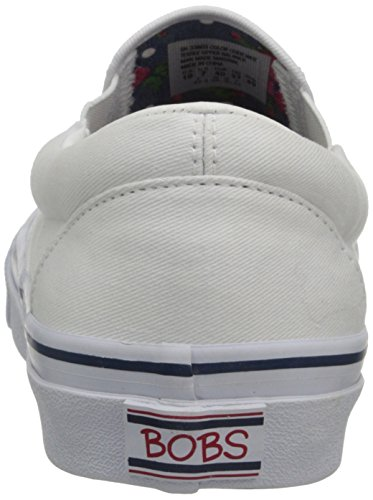 Bobs Från Skechers Kvinna Hotet Goda Tider Mode Sneaker Vit