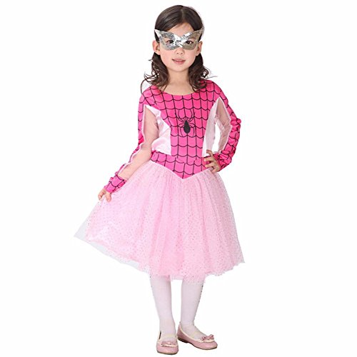 iEFiE (Spidergirl Pink Classic Child Costumes)
