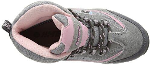 Hi-TecHillside Wp Jrg - High Rise Hiking infantil Grigio (Grey (Grey/Pink 051))