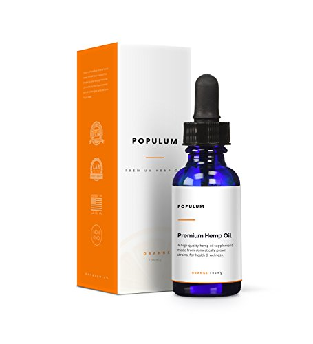 Populum-Premium-Hemp-Oil-Supplement-Grown-and-Made-in-USA-100-Natural-Tasty-Orange-Flavor-30-Servings-1oz-Pure-Hemp-Oil-Hemp-Seed-Oil-Grapeseed-Oil