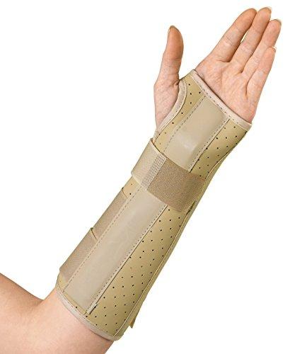 Medline Vinyl Wrist and Forearm Splints, Left, Small