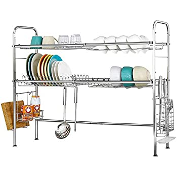 Cool Amazon Com Premiumracks Professional Over The Sink Dish Caraccident5 Cool Chair Designs And Ideas Caraccident5Info