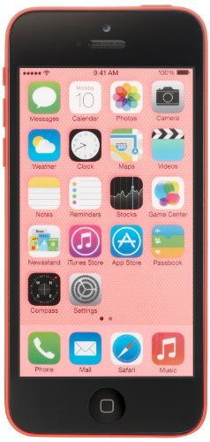 Apple iPhone 5c GSM Unlocked Cellphone, 16GB, Pink