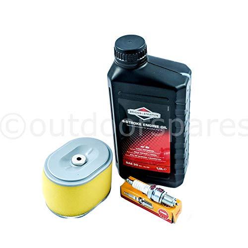 Outdoor Spares Honda GX140 GX160 & GX200 Service Kit Briggs & Stratton Oil NGK Plug Briggs and Stratton