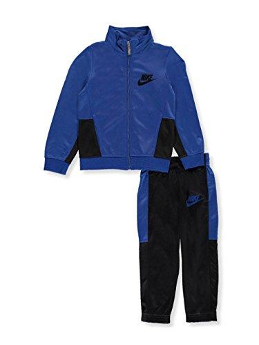 Nike Little Boys' 2-Piece Tricot Tracksuit (Sizes 4-7) - blue jay, 4