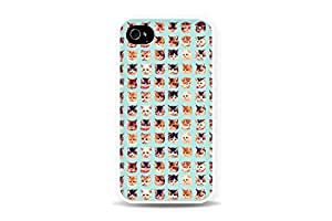 DECO FAIRY? Many Cats Cute Cat Snap on Case Cover for Apple iPhone 5 5S