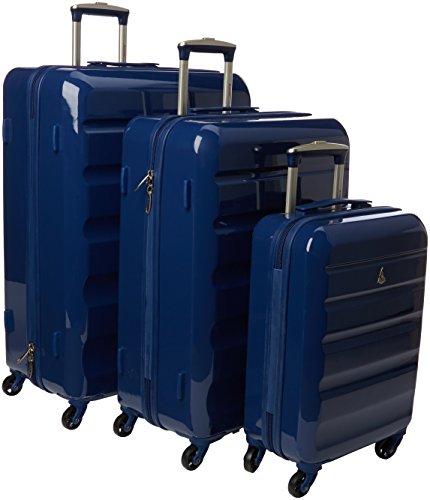 Aerolite Juego de maletas, azul marino (Azul) – PCF715 NAVY 3 PCS SET