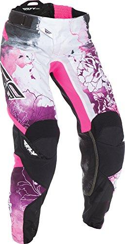 Womens Motocross Pants - Fly Racing Unisex-Adult Kinetic Women's Race Pants Pink/Purple Size 2