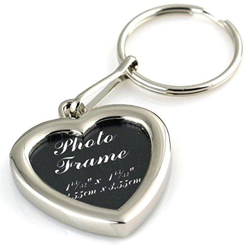 maycom Photo Frame Keychain Metal Heart Love Keyring Car Key Chain Ring Keyfob Key Fob Key Holder Keyrings 85421