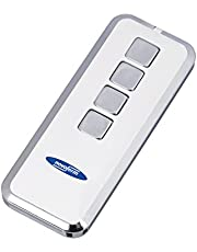 Garagedeur handzender Mini-Novotron 524 (4-kanaals zender; 64/128 bit encryptie; 433 MHz; zilver/wit) TM15912101150