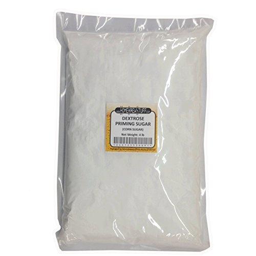 HomeBrewStuff Corn Sugar (Dextrose) priming sugar for beer brewing, Bottling, Moonshine or cooking (4 ()