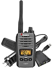UNIDEN UH810S 1W UHF SINGLE HANDHELD RADIO 80 CHANNEL