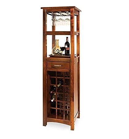 Jangir JDBF224 Bar Cabinet (Medium Glossy Finish, Walnut)