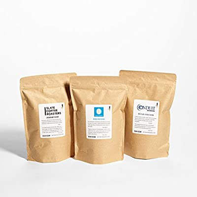 Bean Box Gourmet Coffee Club - 6-Month Subscription (fresh roasted whole bean coffee, specialty arabica beans, personalized gift note) by Bean Box