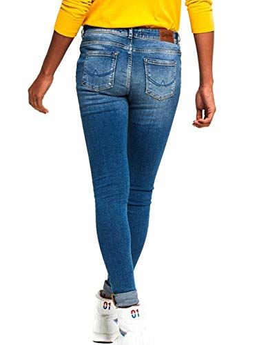 Jeans Femme Jegging Bleu Denim Alexia Superdry FYwnvqY