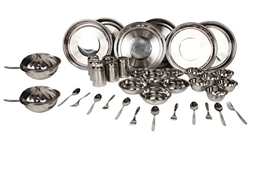ROYAL SAPPHIRE Stainless Steel Dinnerware Set 40 Pieces