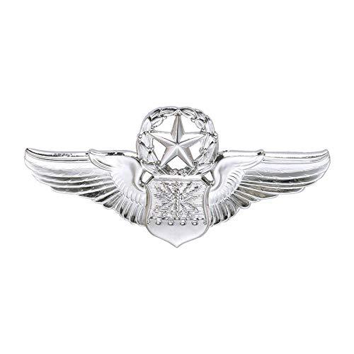 Medals of America Air Force Badge Master Navigator Regulation Mirror Finish