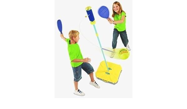 ... niños compacto plegable portátil swing juego de jardín de juego de pelota-reemplazo Nur der Schläger Talla:talla única: Amazon.es: Deportes y aire libre