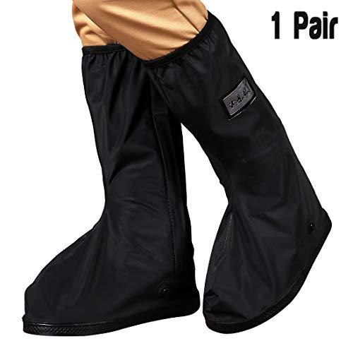 Ruphance Rain Shoes Covers Waterproof Overshoes, Unisex PVC Anti-Slip Snow Rain Boot