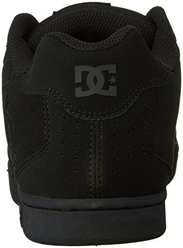 DC Net M - Zapatillas de deporte de cuero nobuck para hombre Negro