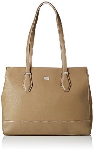 David Jones Women's Cm3718 Shoulder Bag Green (Khaki Cm3718)