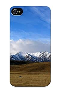 New Style Tpu 4/4s Protective Case Cover/ Iphone 4/4s Case - New Zealand Mountain Range