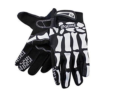 Hand Gloves for Bike Riders Basecamp Bike Full Finger Skeleton Gloves,Slip-Resistant Performance Specialized Bike Cycling Bicycle Riding Gloves for Women and Men