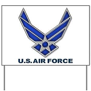 USAF símbolo Patio signyard Sign, vinilo señal de césped, político elecciones Sign