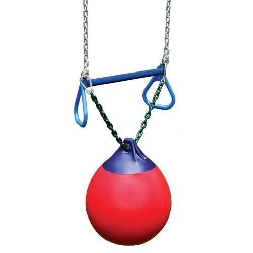 Gorilla Playsets - Buoy Ball with Trapeze Bar, (Gorilla Buoy Ball)