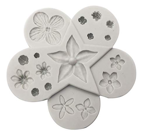 Ultimate Filler Flowers Silicone Sugarpaste Icing Mould, Flower Pro for Cake Decorating, Sugarcraft, Cards, Crafts and Candies, Food Safe