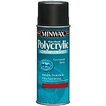 Minwax 33333 Water-Based Polycrylic Clear Satin Spray, 11.5-Ounce Aerosol by Minwax