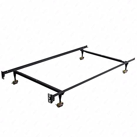 Amazon Com Mecor Heavy Duty Adjustable Metal Bed Frame Platform