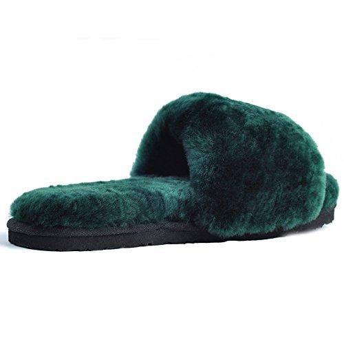 OME Aire Verano Habitación Acondicionado negruzca Zapatillas De Fuera Verde amp;QIUMEI Zapatillas qxYrqpB